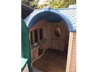 Little tikes cottage house