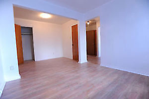 5 1/2 Three bedroom apartment with heat included