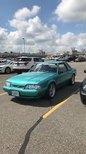 1992 Ford Mustang LX Calypso Green! Supercharged!