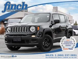 2016 Jeep Renegade SPORT 4X4|EXECUTIVE DEMO|GET APPROVED TODAY!
