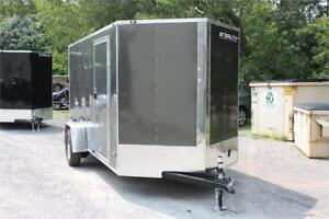 2018 Stealth Mustang Series ENCLOSED CARGO TRAILER ( BRAKES )