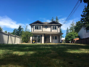 Upper Floor with LARGE YARD in Sooke BC