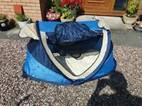 Nscessity Sun Essentials Deluxe UV Pop Up Sun Tent/Travel Cot/Shelter/Baby