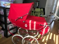 Silver Cross vintage doll pram