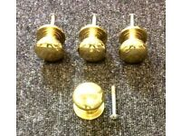 Small Brass Knobs