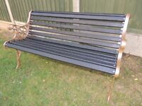 Regal Garden Bench - 2 seater - refurbed