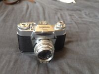 Voigtlander Bessamatic CS with a Color Skopar 2.8/50 lens, fully working, with case