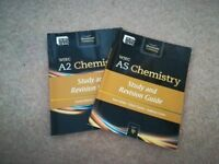 WJEC AS & A2 Core chemistry study and revision guides - Good condition