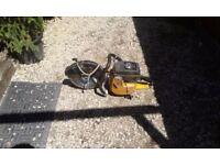 Partner petrol stone cutter