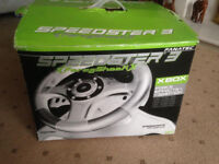 Fanatec Speedster 3 Steering Wheel & padal,Brand New boxed . Reduced to Clear