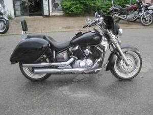 Preowned 2002 Yamaha Vstar1100 Classic wtih Extras