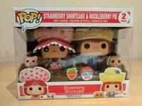 Pop funko strawberry shortcake & huckleberry pie scented NYCC exclusive 2 pack