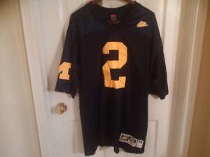 University of Michigan Charles Woodson XL Nike Football Jersey