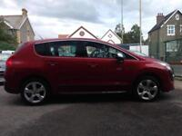 Peugeot 3008 Crossover Exclusive *12 months Warranty, Recovery + Mot Cover INC!*