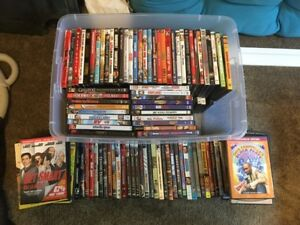 158 DVDs To Choose From