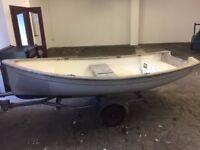 (Boat) Trinka 12 Sailing Dingy / Rowing Boat