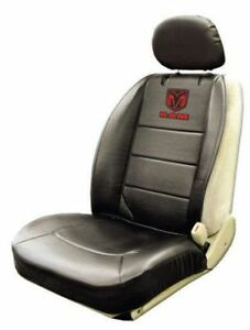 One New Dodge Ram Elite Black Front Sideless Seat Cover  Synthet