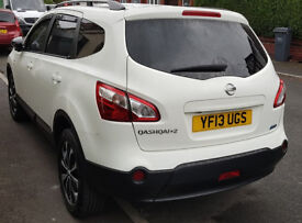 Nissan Qashqai+2 (7 Seater) 1.6dCi 360 fully loaded