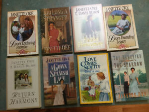 Books by Janette Oke. ( 8 books)
