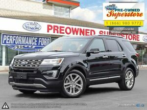2016 Ford Explorer Limited>>>Captain's Chairs, NAV, AWD<<<