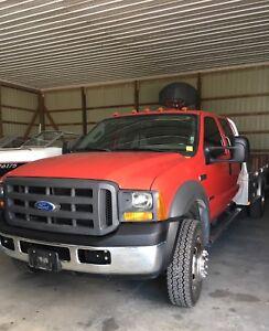 F550 Diesel Flatbed