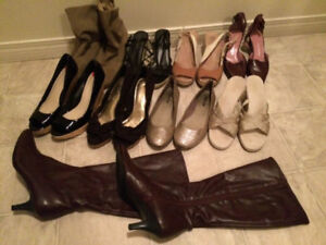 Womans Size 10 Shoes- $40 for all of them together
