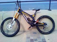 "Nukeproof Pulse Pro medium DH downhill mountain bike MTB 26"" wheels"