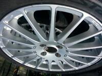 "Ford Focus Mk1 18""; Super Turismo Alloy Wheels"