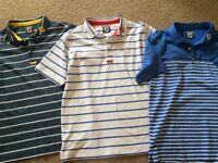 Footjoy polo shirts Junior