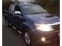 Toyota hilux invincible 13 reg no vat