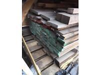 Mixed sizes of hardwood £6 each