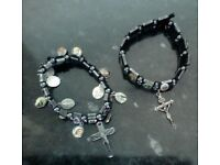 Catholic Rosary Cross Bracelets