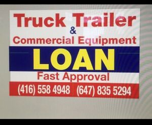 TRUCK TRAILER DUMP TRUCK  EQUIPMENT LOAN