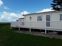 2016 willerby rio gold 2 bedroom static caravan excellent condition sited in carmarthen bay park