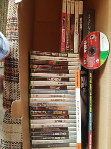 Xbox 360 Games, Controllers, and Headsets