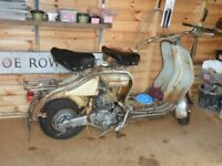 lambretta LD mk 3 for restoration lots of work done too much to list