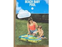 Beach Baby Pool. Sand, water or Ball pit NEW