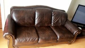 Brown Leather Couch - ASHLEY Furniture