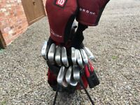 Set of Taylor Made Golf Clubs