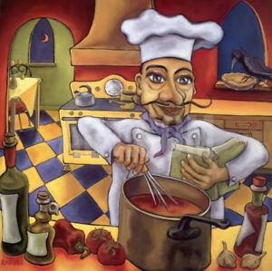 MARCELO THE CHEF BY ARTIST RAFUS