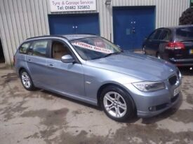 BMW 318D,Turbo diesel estate ,1 previous owner,2 keys,full MOT,runs and drives very nicely,FL60UTF