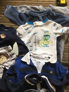 Used baby clothes lot 0-3m