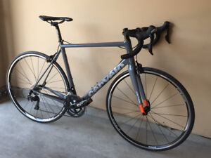 2016 Cervelo R2 105 (Size 56 - Grey and Orange)