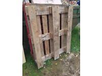 Free wooden pallets pallet wood x 2
