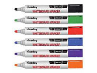 Nice day markers bullet tip 1.3mm assorted pack, I have 25 markers,brand new only £10