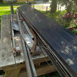 Garage door 8 foot steel roll up