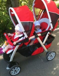 "Double stroller ""chicco"""