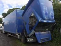 Iveco euro cargo 7.5 ton truck breaking for spares 2004