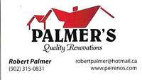 PALMER'S QUALITY DRYWALL AND SEAMFILLING