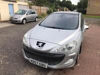 PEUGEOT 308 2.0 HDi GT 5dr (silver) 2007
